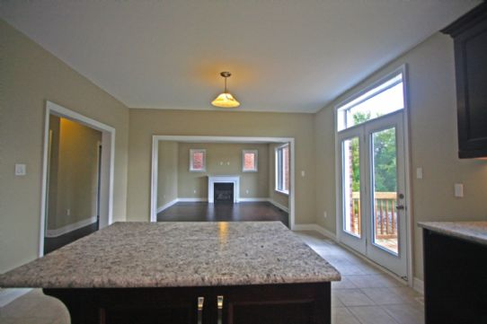 kitchen looking to living room